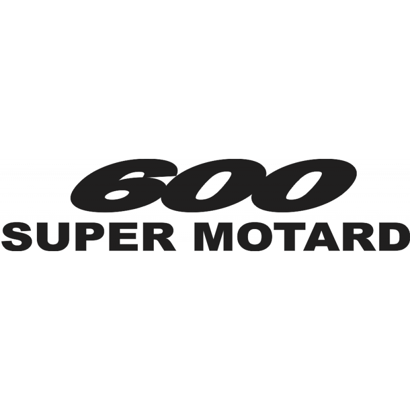 Sticker 600 Super Motard