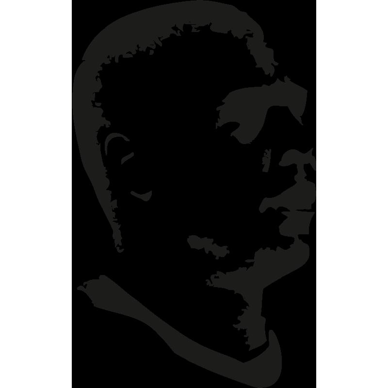 Sticker Foot Ronaldo