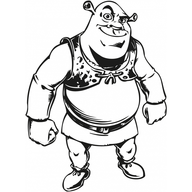 Sticker Shrek