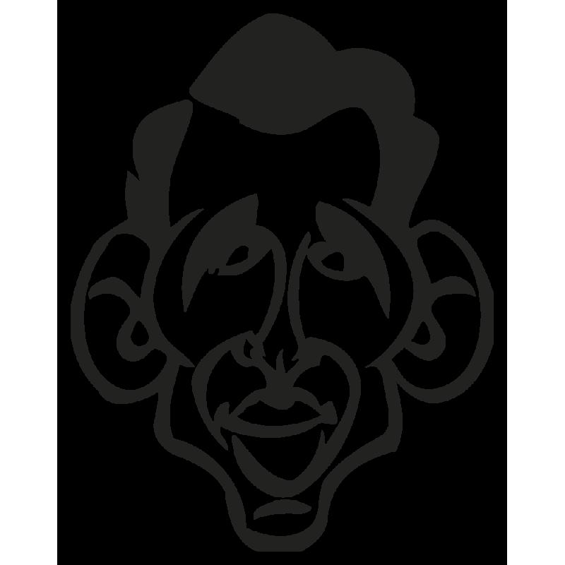 Sticker Caricature Bayrou