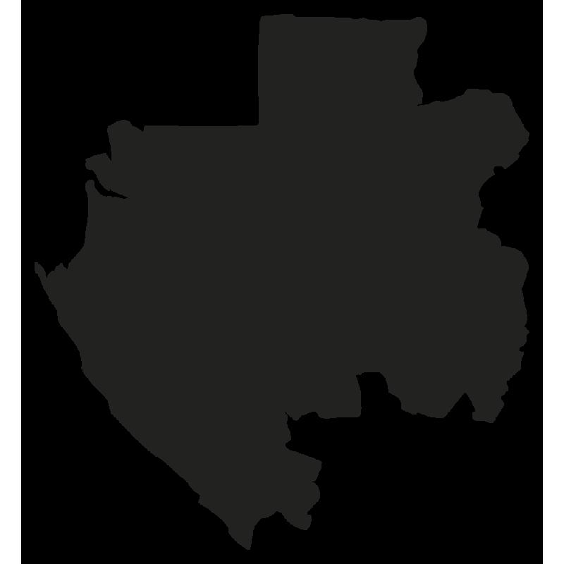 Sticker Gabon