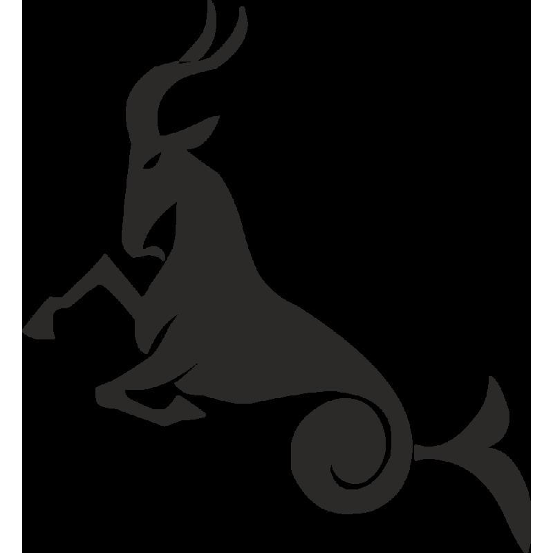 Sticker Capricorne