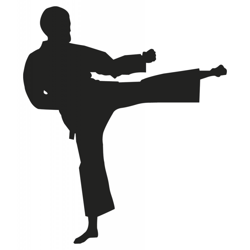 Sticker Sport Combat