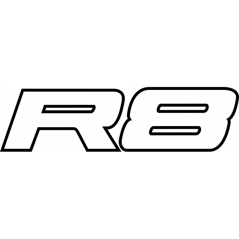 Sticker Audi R8