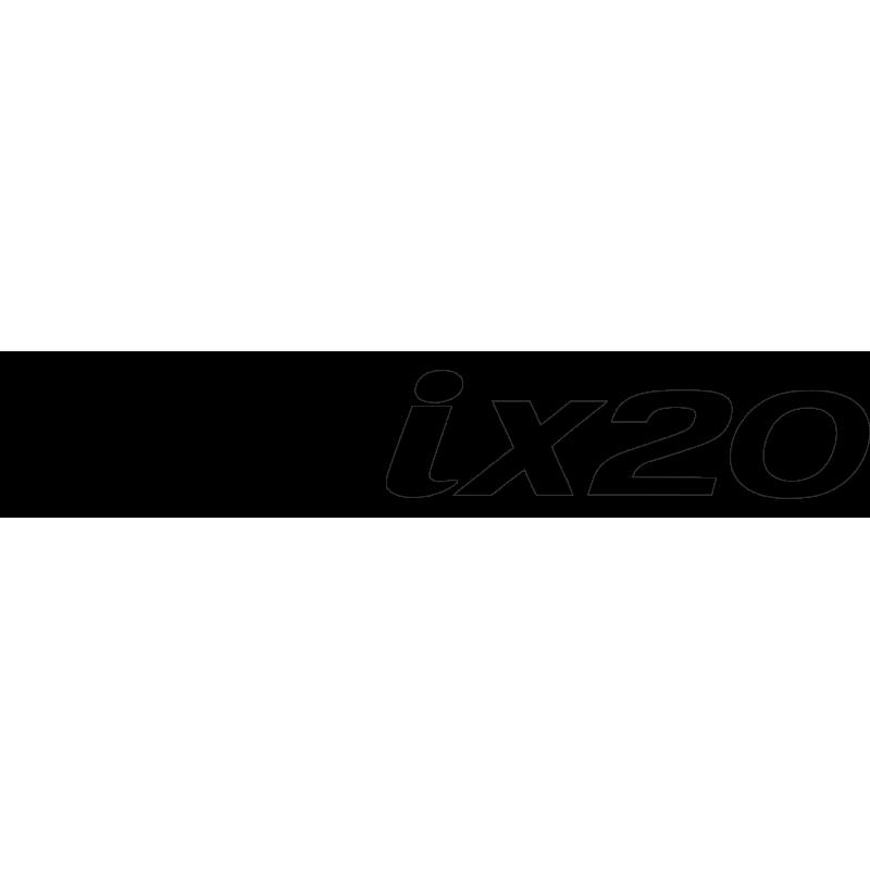 Sticker Hyundai Ix20