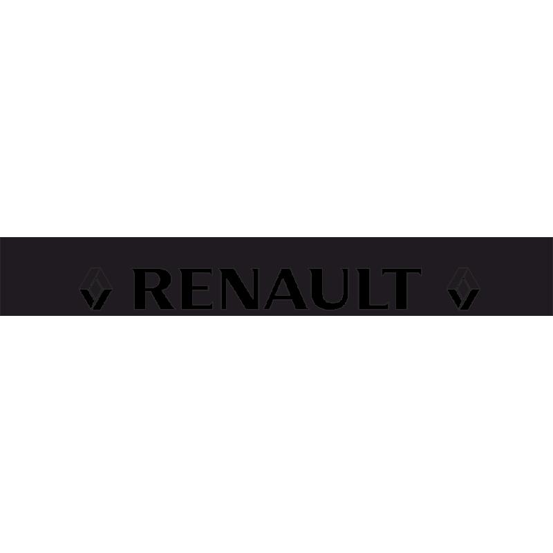 Sticker Bande Pare Soleil Renault Logo
