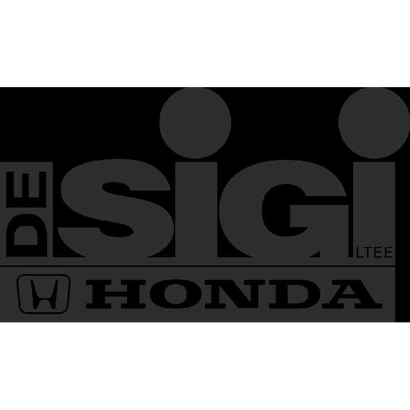 Sticker Honda Sigi