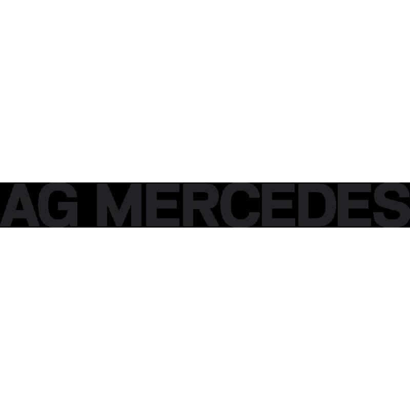 Sticker Ag Mercedes