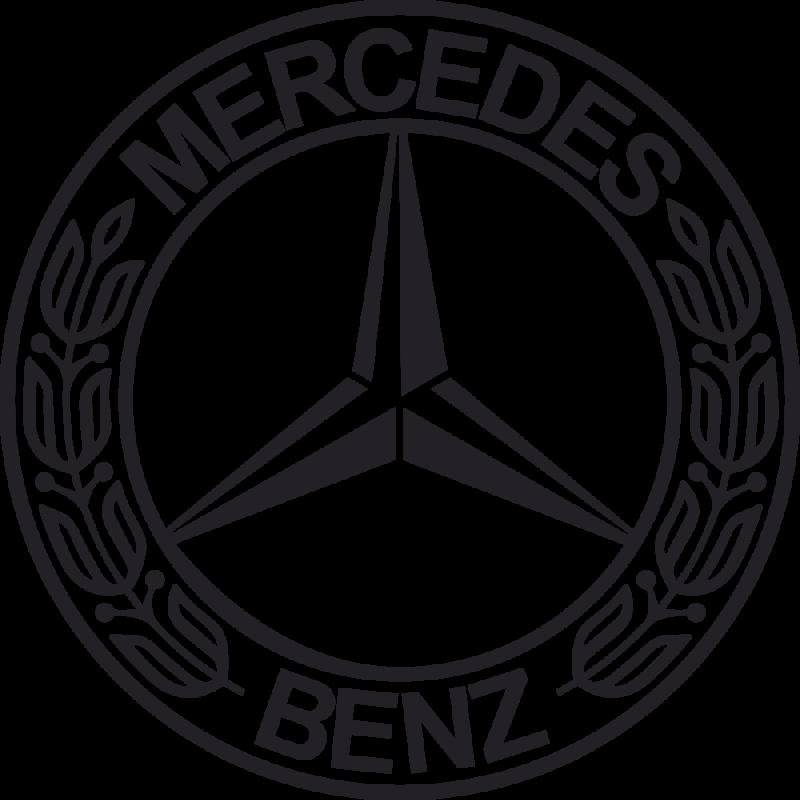 Sticker Mercedes Benz