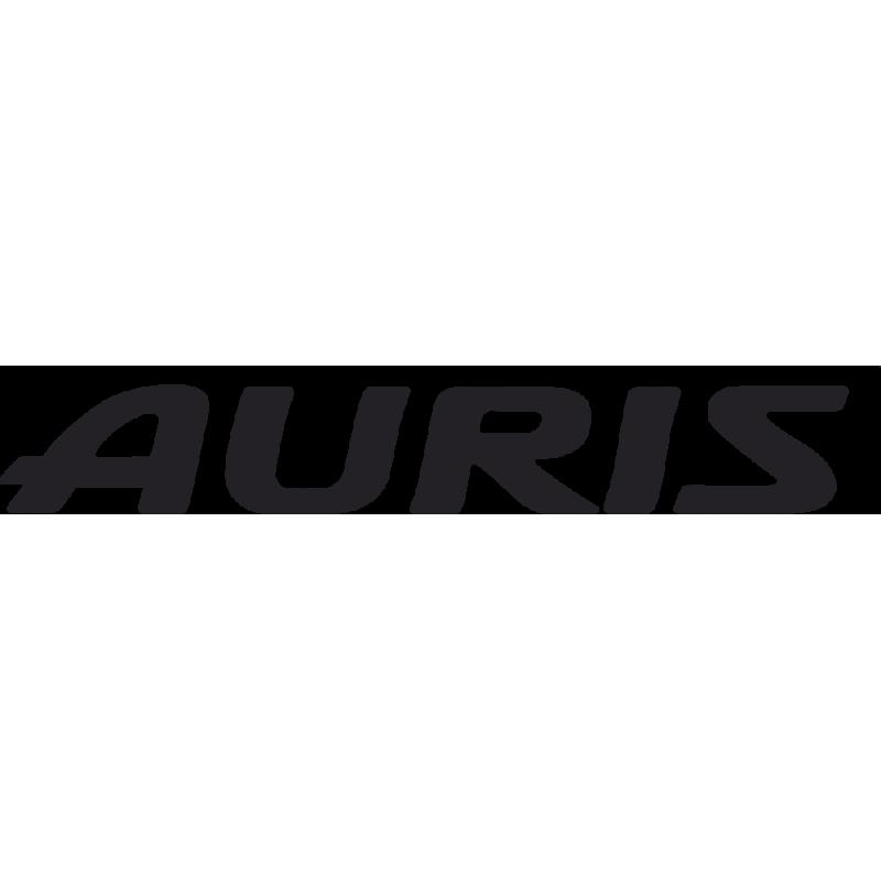 Sticker Toyota Auris