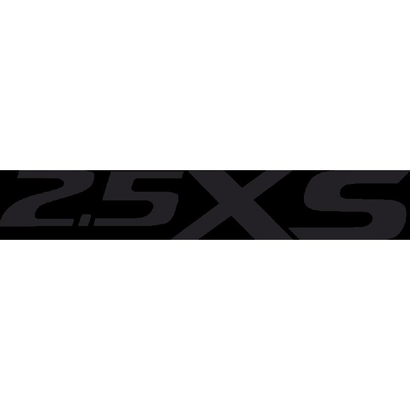 Sticker Subaru 2.5 Xs