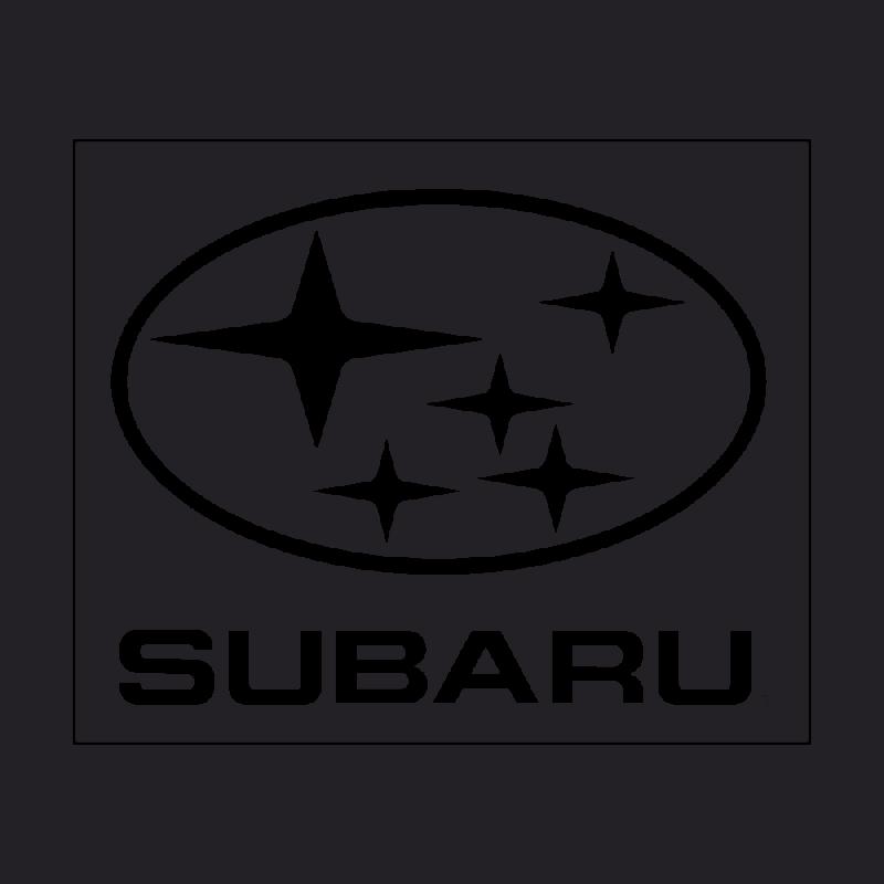 Sticker Subaru Logo Carré
