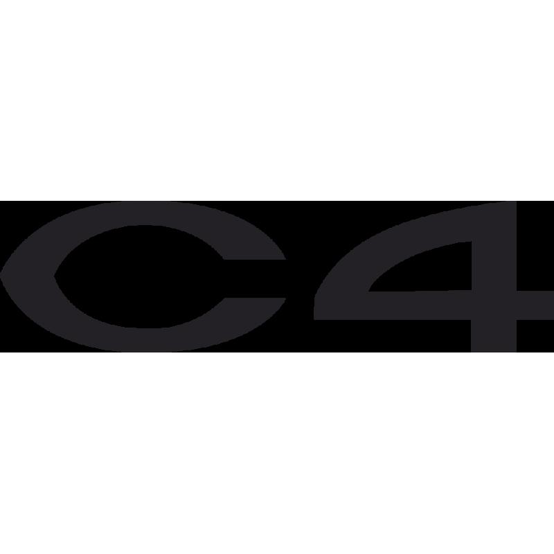 Sticker Citroen C4