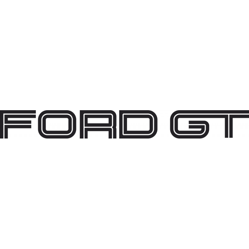 Sticker Ford Gt