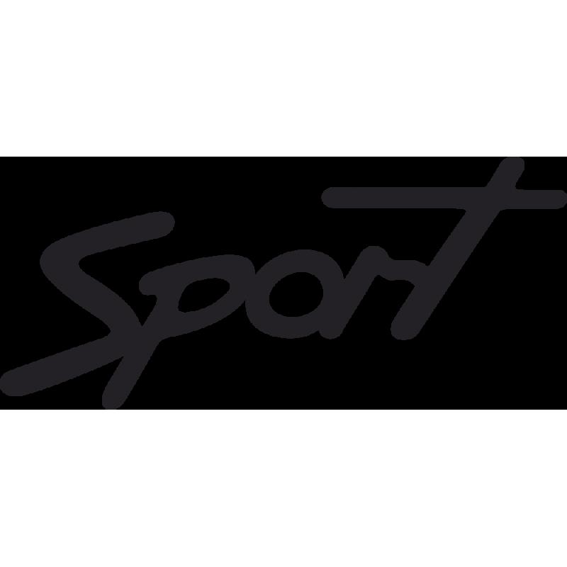 Sticker Ford Sport