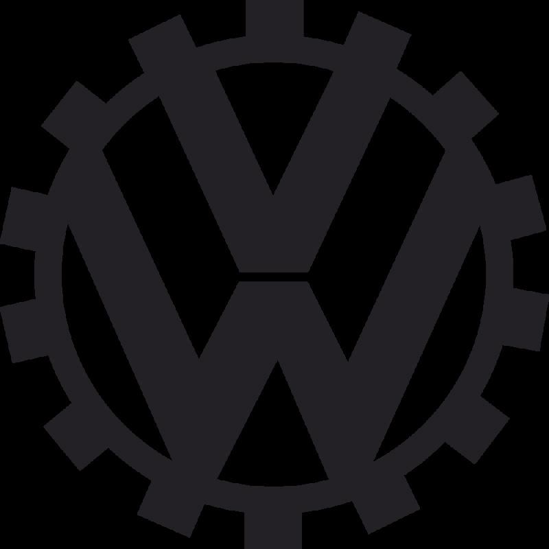 Sticker Volkswagen Logo