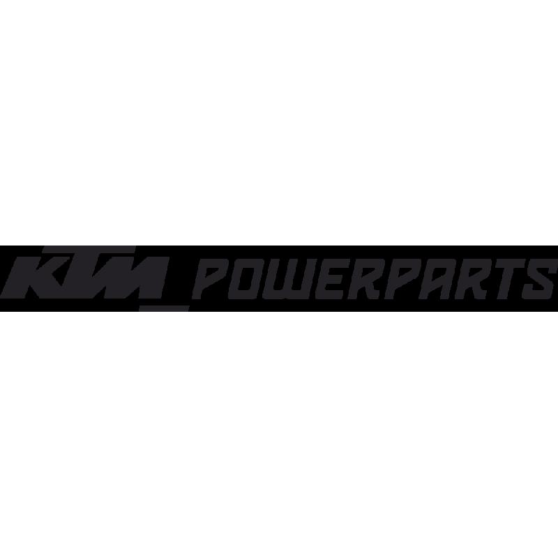 Sticker Ktm Powerparts