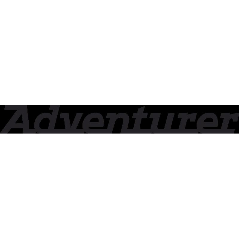 Sticker Triumph Adventurer