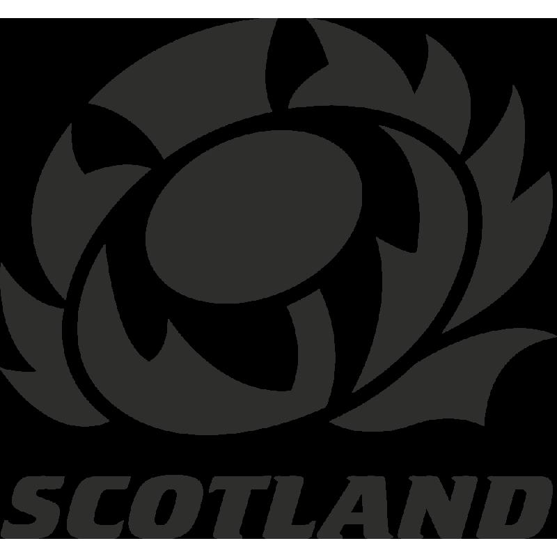 Sticker Rugby Logo Scotland