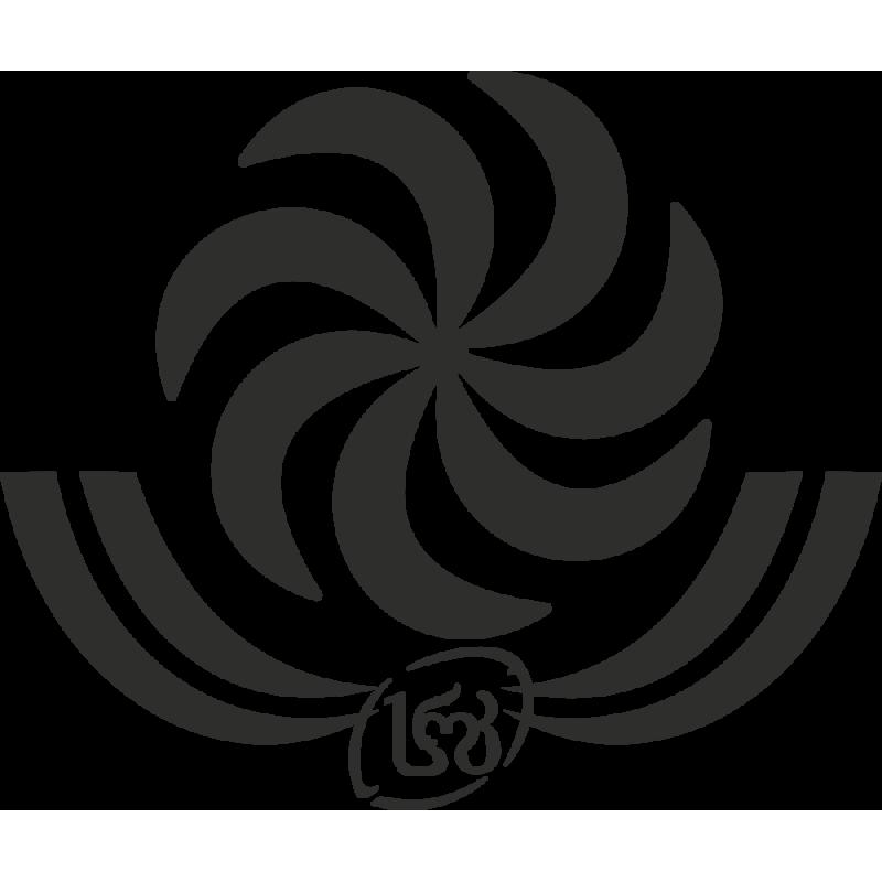 Sticker Rugby Georgie Logo