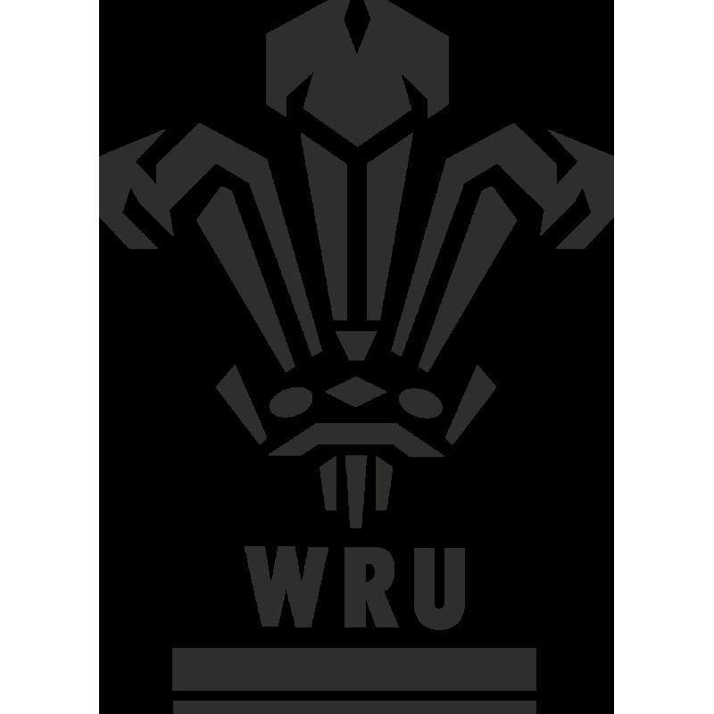 Sticker Rugby Wru Logo