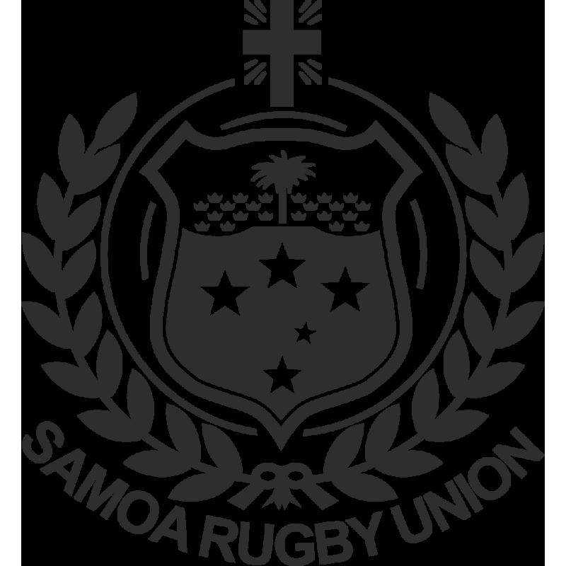 Sticker Rugby Samoa Logo