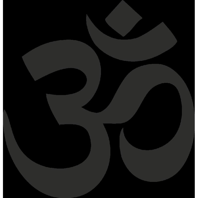 Sticker Symbole Mantra
