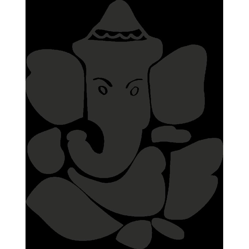 Sticker Symbole Ganesh