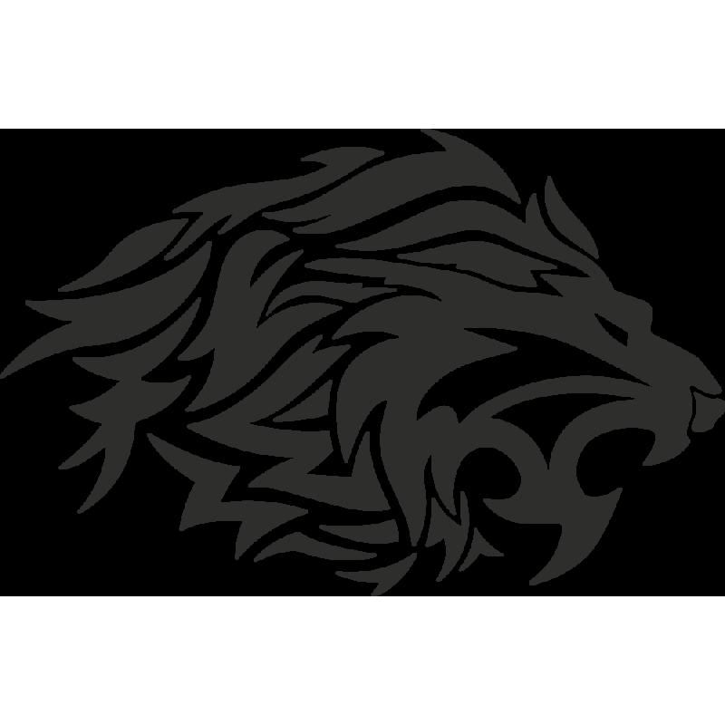 Sticker Tribal Lion