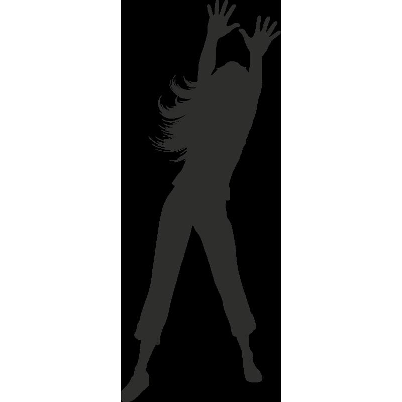 Sticker Sport Danse