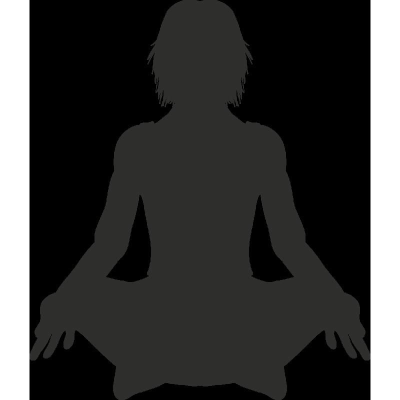 Sticker Sport Yoga