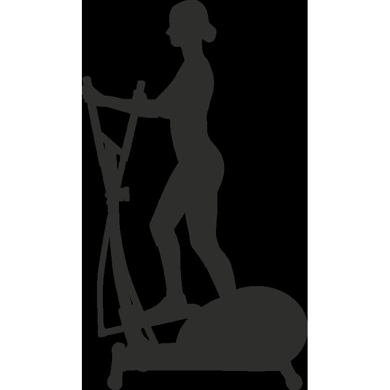 Sticker Sport Muscu