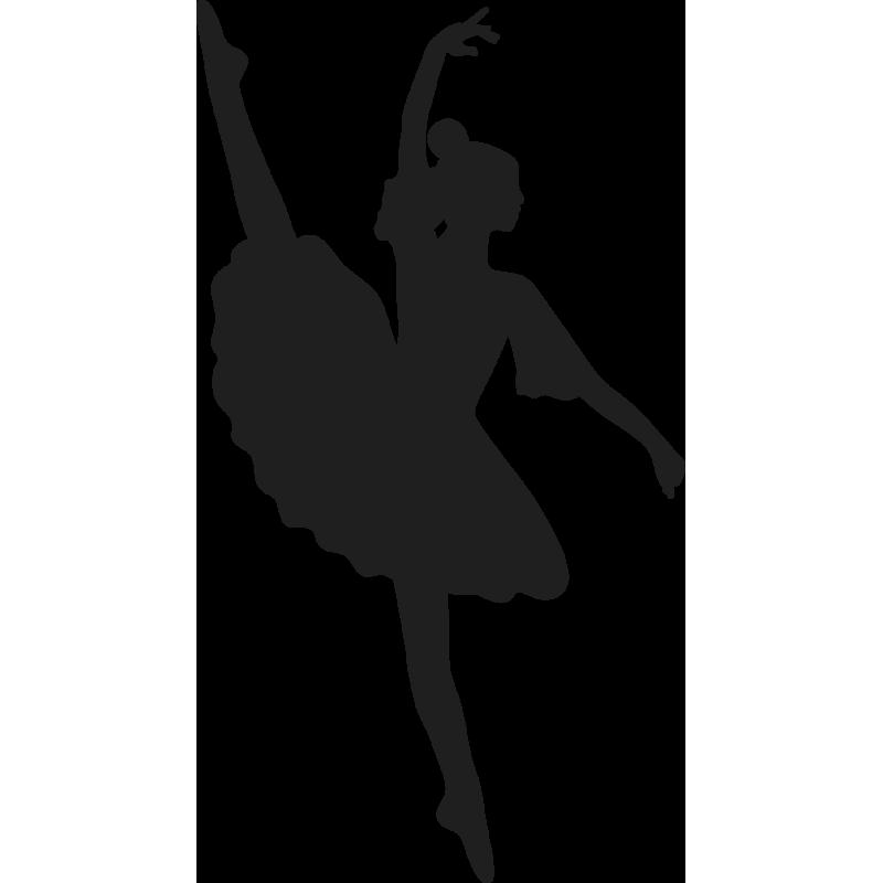 Sticker Femme Ballerine