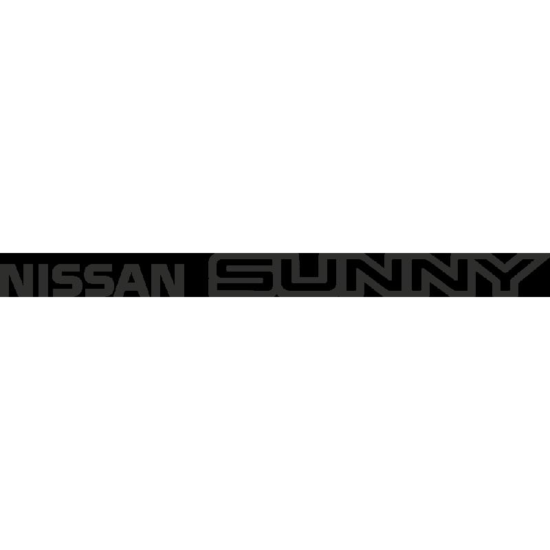 Sticker Nissan Sunny