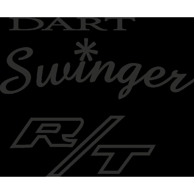 Sticker Dodge Dart Swinger