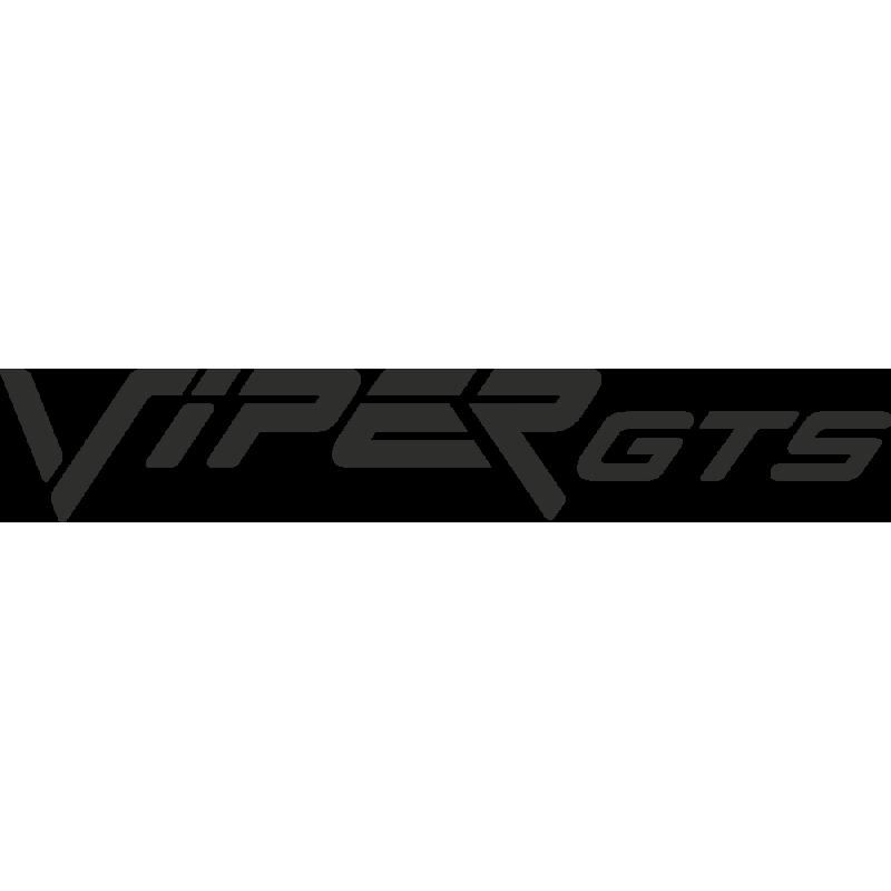 Sticker Dodge Viper Gts