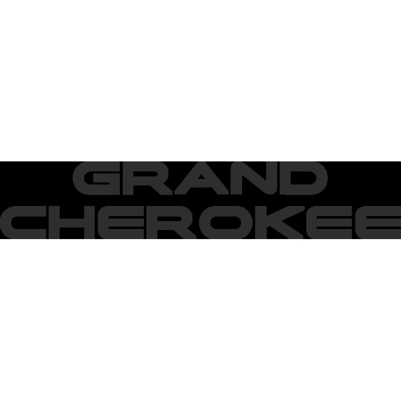 Sticker Jeep Grand Cherokee