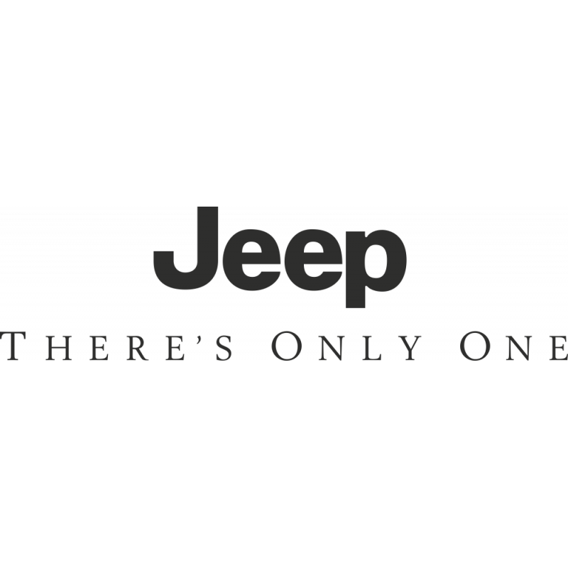 Sticker Jeep Only One