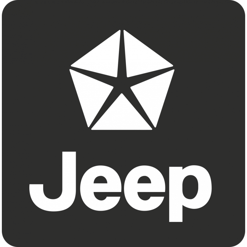 Sticker Jeep Carré