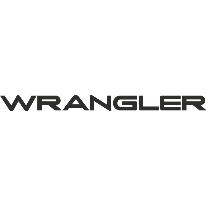 Sticker Jeep Wrangler