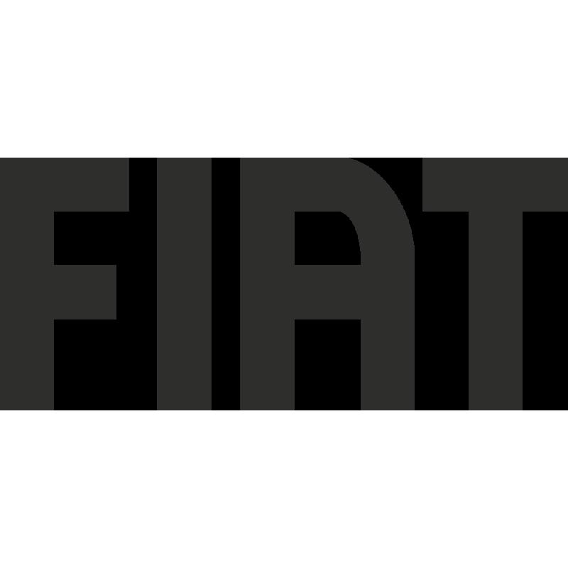 Sticker Fiat Logo Simple