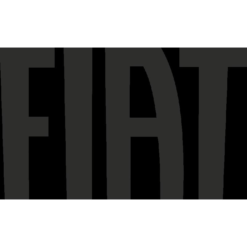 Sticker Fiat Logo