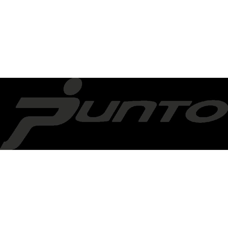 Sticker Fiat Punto