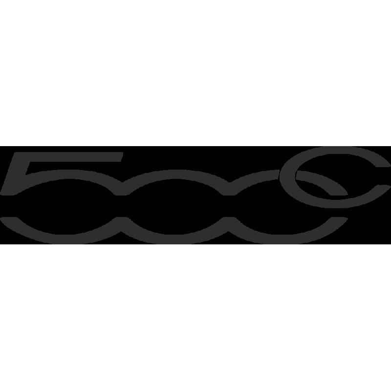 Sticker Fiat 500c