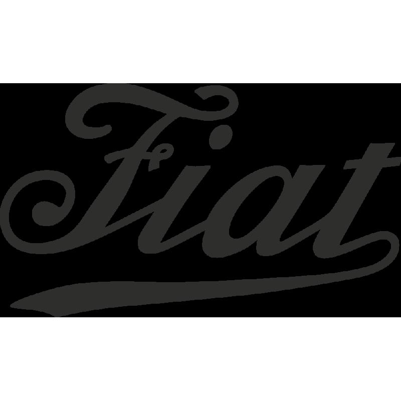 Sticker Fiat élégant