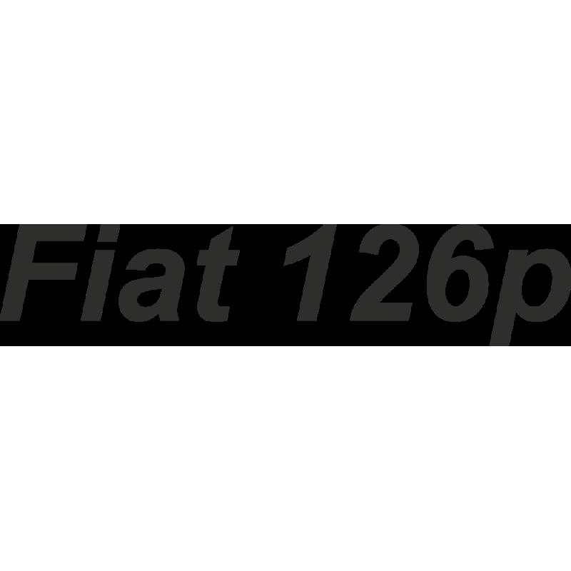 Sticker Fiat 126p