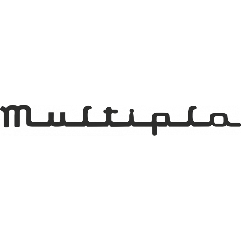 Sticker Fiat Multipla
