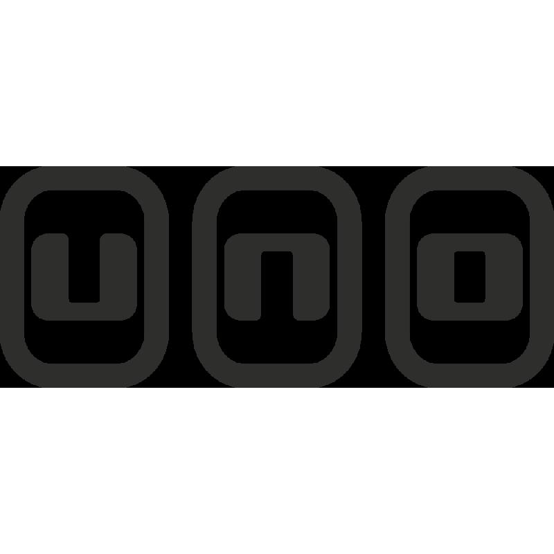 Sticker Fiat Uno