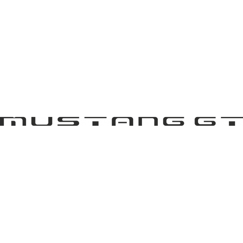 Sticker Ford Mustang Gt