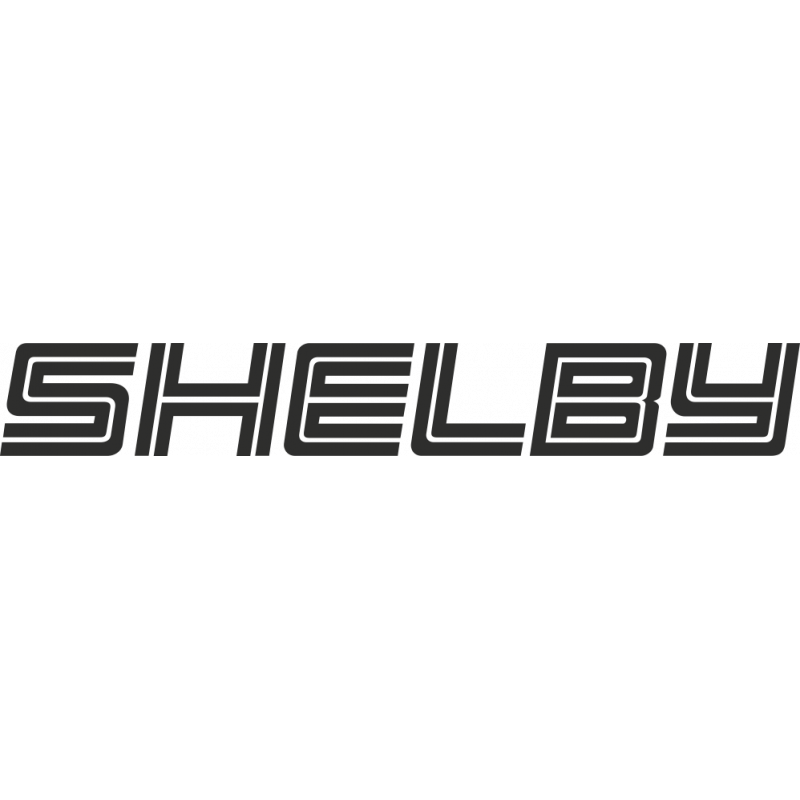 Sticker Ford Shelby